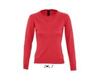 SOL´S Women`s V Neck Sweater Galaxy
