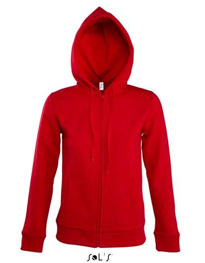 SOL´S Women Hooded Zipped Jacket Seven
