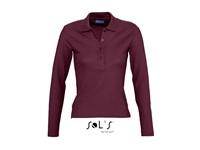 SOL´S Ladies` Longlseeve Polo Podium