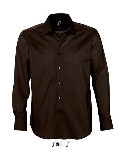 SOL´S Men`s Stretch-Shirt Brighton Longsleeve