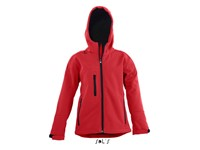 SOL´S Kids` Hooded Softshell Jacket Replay