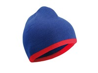 myrtle beach Beanie with Contrasting Border