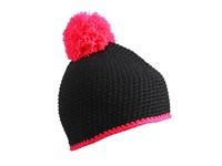 myrtle beach Pompon Hat with Contrast Stripe