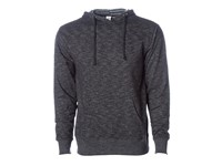 Independent Men`s Midweight Baja Stripe French Terry Hooded Pullover