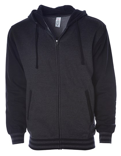 Independent Unisex Heavyweight Varsity Zip Hood