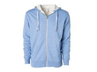 Independent Unisex Sherpa Lined Zip Hooded Jacket