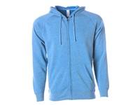 Independent Unisex Midweight Special Blend Raglan Zip Hood