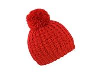 Result Winter Essentials Knitted Flute Pom Pom Hat