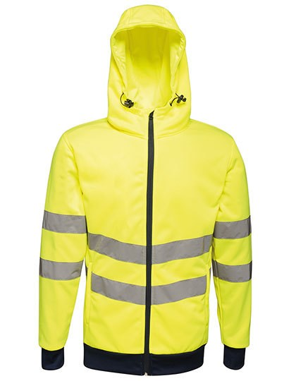 Regatta Hi-Vis Pro FZ Extol Stretch Hoodie Jacket