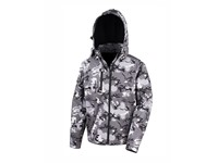 Result Camo TX Performance Hooded Softshell Jacket