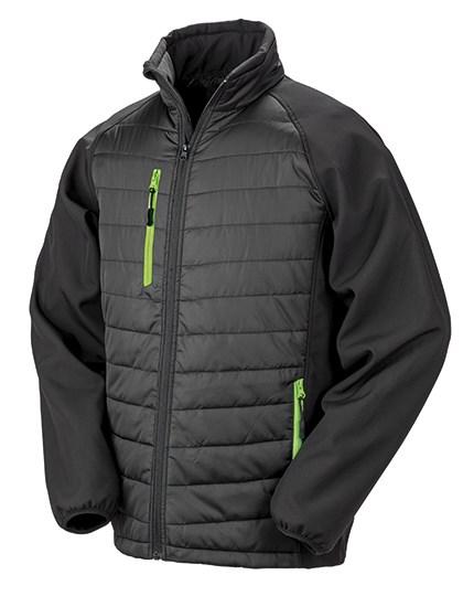 Result Black Compass Softshell Jacket