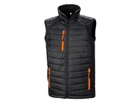 Result Black Compass Softshell Gilet