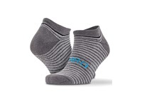 SPIRO 3-Pack Mixed Stripe Coolmax Sneaker Socks