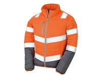Result Women`s Soft Padded Safety Jacket