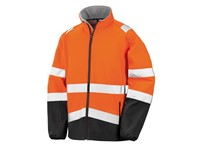 Result Printable Safety Softshell Jacket