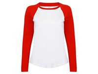 SF Women Women`s Long Sleeved Baseball T
