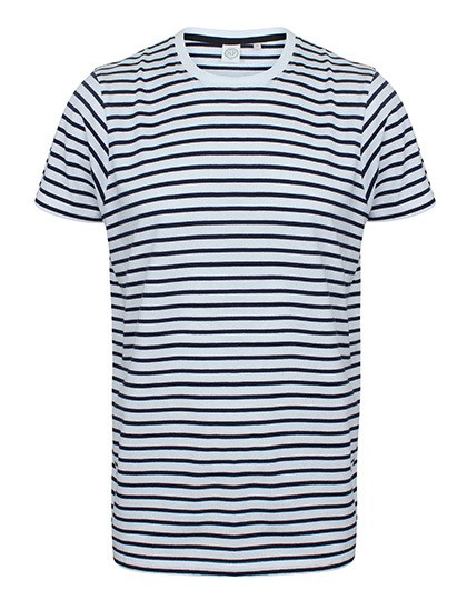 SF Men Unisex Striped T
