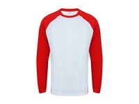 SF Men Men`s Long Sleeved Baseball T