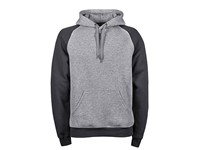 Tee Jays Two-Tone Hooded Sweatshirt