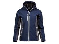 Tee Jays Ladies` Hooded Lightweight Performance Softshell Jacket