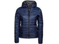 Tee Jays Ladies` Hooded Outdoor Crossover Jacket