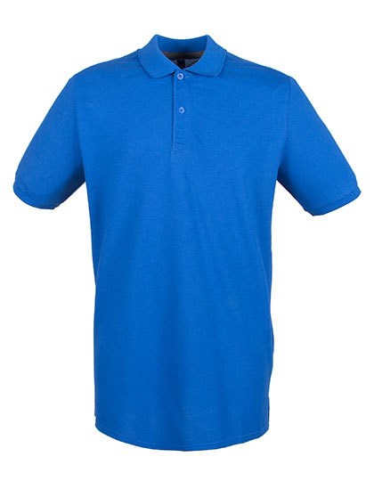 Henbury Modern Fit Cotton Microfine-Piqué Polo Shirt