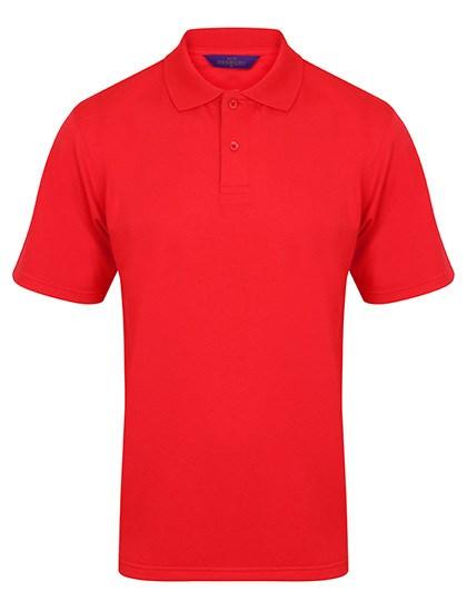 Henbury Men`s Coolplus Wicking Polo Shirt