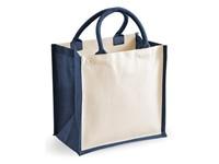 Westford Mill Printers Midi Jute Bag