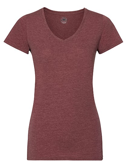 Russell Ladies` V-Neck HD T