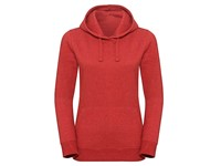 Russell Ladies` Authentic Melange Hooded Sweat
