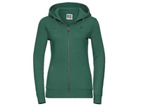 Russell Ladies` Authentic Zipped Hood Jacket