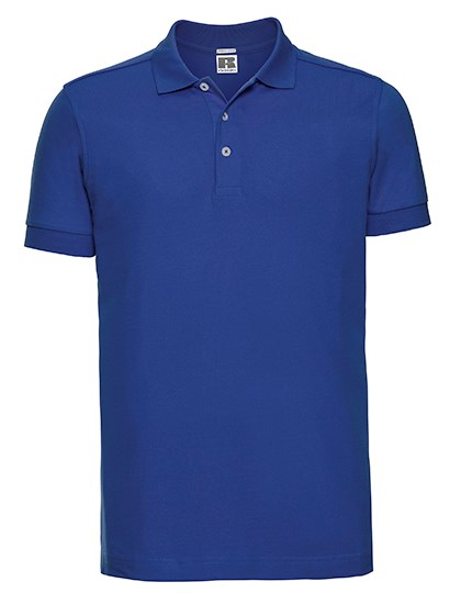 Russell Men`s Fitted Stretch Polo