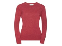 Russell Collection Ladies` Crew Neck Knitted Pullover