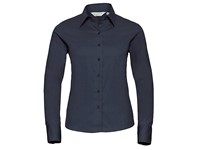 Russell Collection Ladies` Long Sleeve Classic Twill Shirt