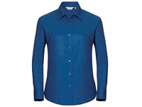 Russell Collection Ladies` Long Sleeve Classic Oxford Shirt