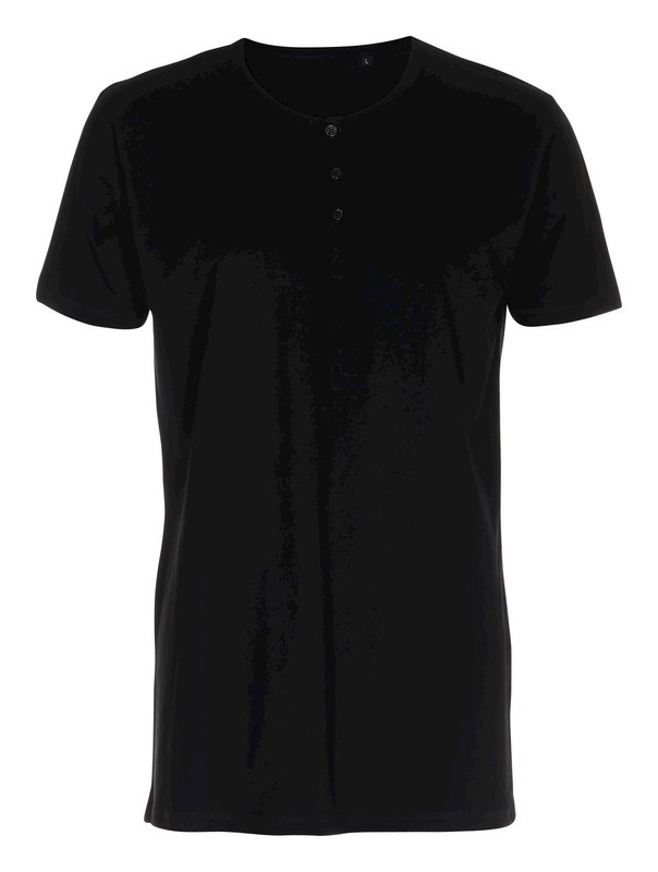 Labelfree T-shirt met knoopjes 1113