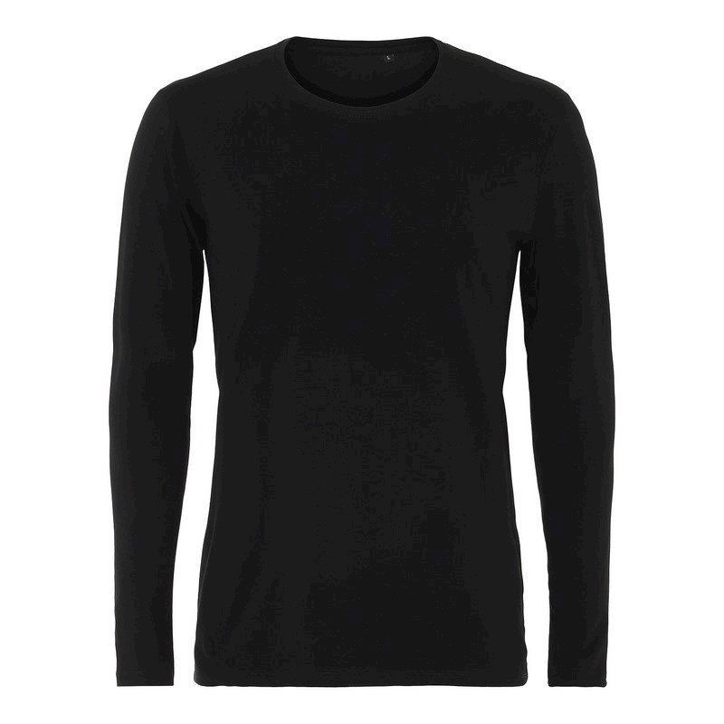 Labelfree T-shirt lange mouw, stretch 1119