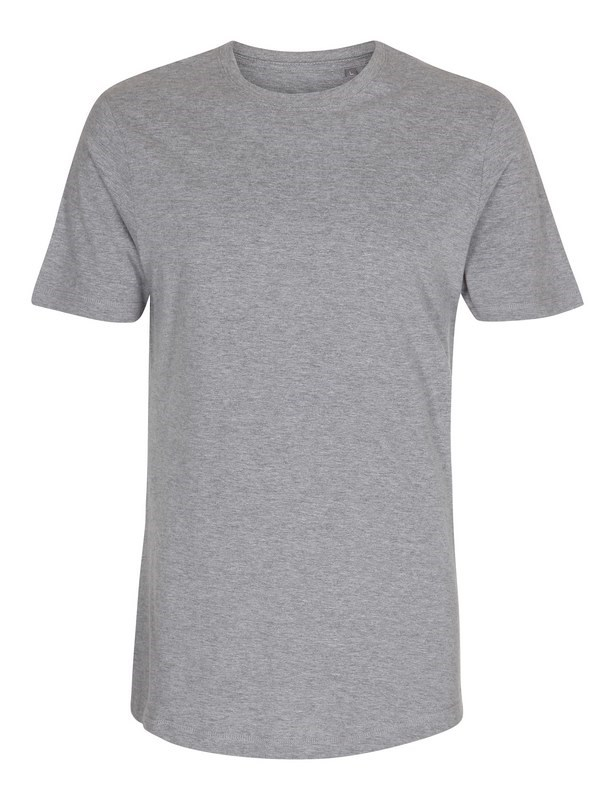 Labelfree T-shirt, extra lang 1124