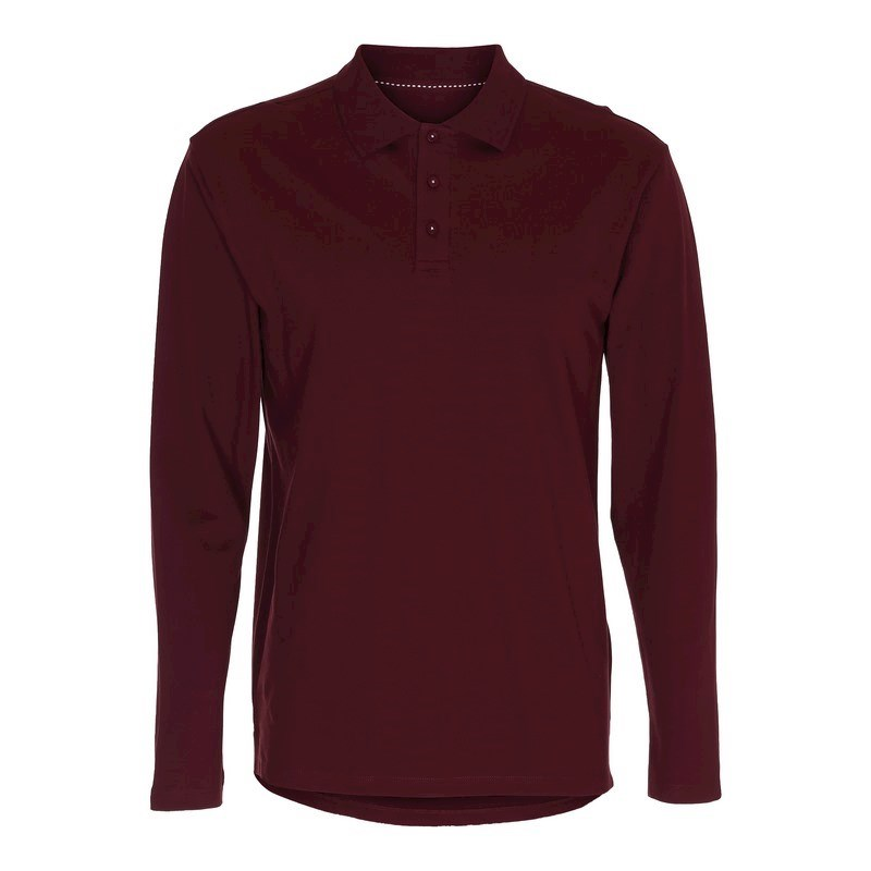 Labelfree stretchpolo lange mouw, dames 2106