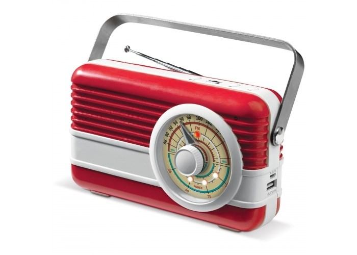 Powerbank 6000mAh & retro speaker 3W