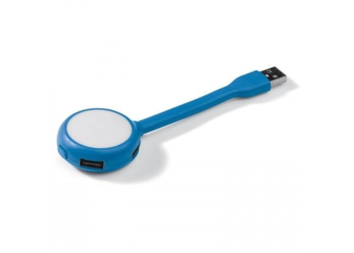 USB connector booklight 4 poorten