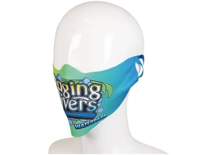 Custom-made gezichtsmasker full-colour