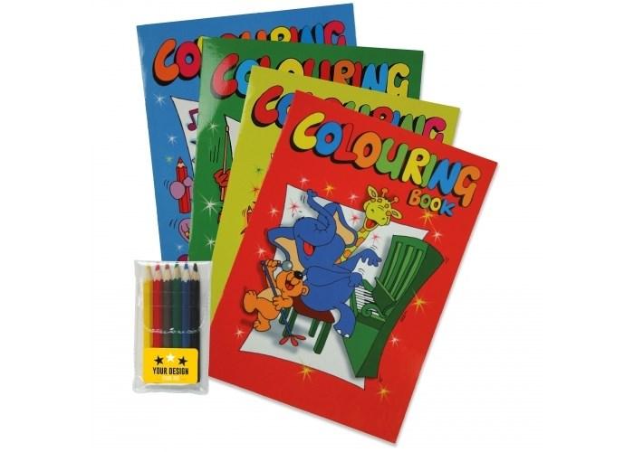 Kleurboek set A4