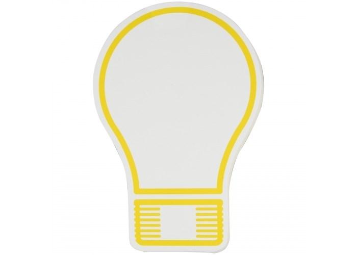 Zelfklevende memoblaadjes lampje