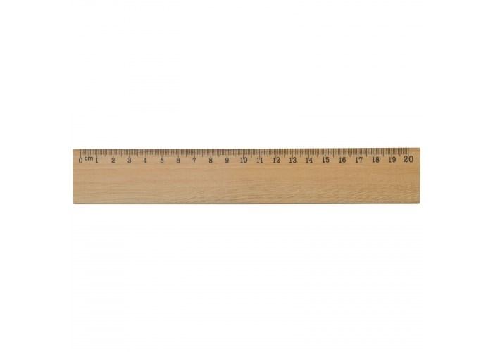Houten liniaal 20cm