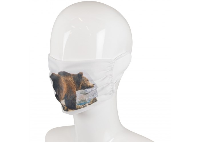 Herbruikbaar gezichtsmasker polyester Made in Europe