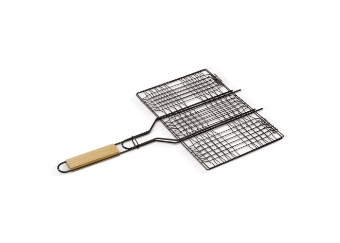 Rechthoekige barbecue grill
