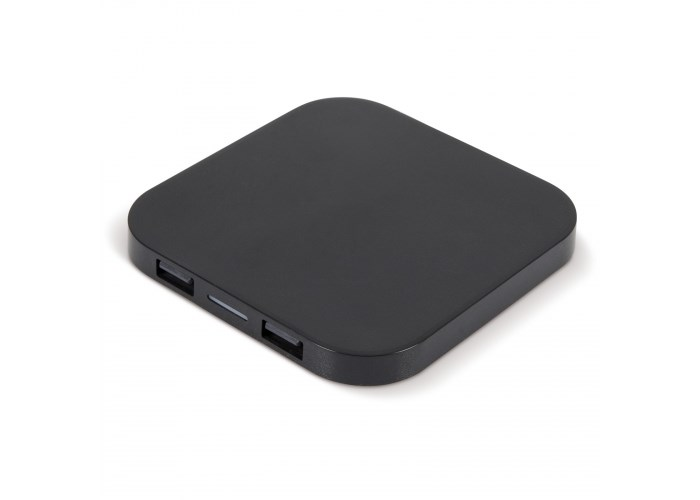 Draadloos oplaadstation 5W met 2 USB poorten