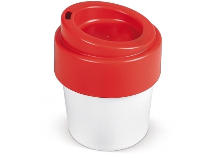 Hot-but-cool koffiebeker met deksel 240ml