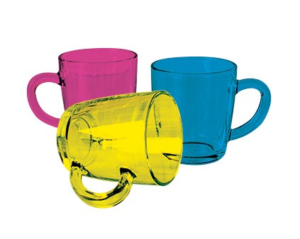 AntiBug® ColourCoat GlassMug